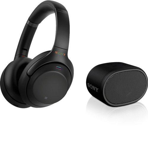 Sony »WH-1000XM3 + SRS-XB01 Set« Over-Ear-Kopfhörer (Kopfhörer + Bluetooth Lautsprecher)