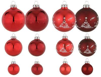 my home Weihnachtsbaumkugel »Advent« (30 Stück), mundgeblasen