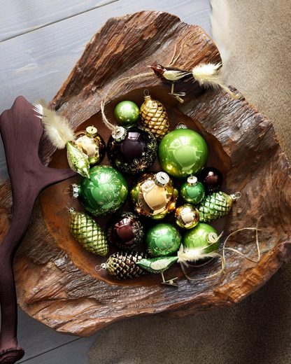 Thüringer Glasdesign Weihnachtsbaumkugel »Royal«  Made in Germany