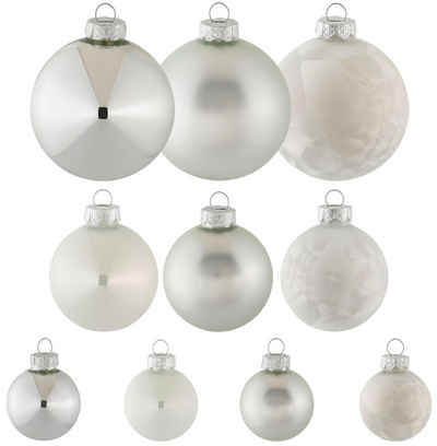Thüringer Glasdesign Weihnachtsbaumkugel (40 Stück)
