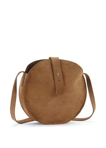LASCANA Runde Tasche, aus weichem Leder