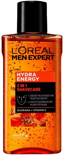 L'ORÉAL PARIS MEN EXPERT After-Shave »Hydra Energy 2-in-1 Shavecare«, löscht Rasurbrand & spendet Feuchtigkeit