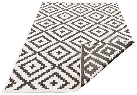 Teppich »Ronda«, my home, rechteckig, Höhe 5 mm, Sisal-Optik, Wendeteppich, In- und Outdoor geeignet