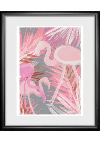 Paveikslas »Flamingo«