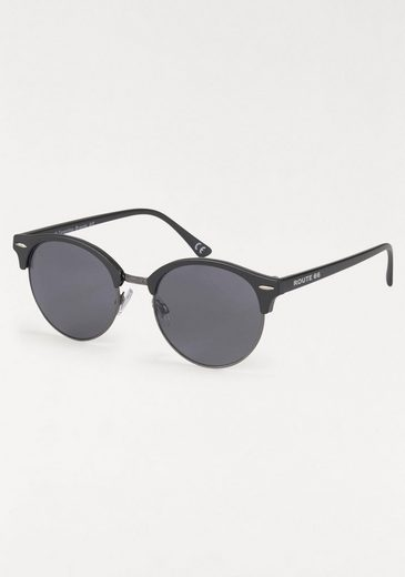 ROUTE 66 Feel the Freedom Eyewear Sonnenbrille Vollrand, Animal Look