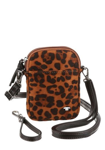 TOM TAILOR Mini Bag »PHONE BAG«, im Animal-Look