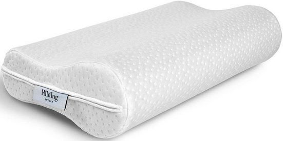 Nackenstützkissen, »Gustav«, Hilding Sweden, Bezug: Polyester, (1-tlg), höhenverstellbar und komplett waschbar