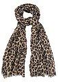 J.Jayz Modeschal Leichter Schal mit Leo Muster, Animal Print, Bild 1