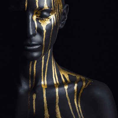 Leonique Acrylglasbild »Gesichtshälfte«