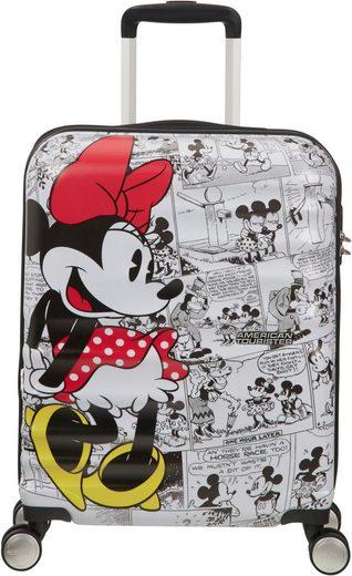 American Tourister® Hartschalen-Trolley »Wavebreaker Disney, 55 cm, Minnie White«, 4 Rollen
