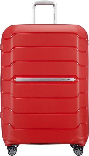 Samsonite Hartschalen-Trolley »Flux, 75 cm, red«, 4 Rollen