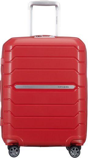 Samsonite Hartschalen-Trolley »Flux, 55 cm, red«, 4 Rollen
