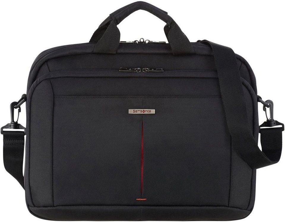 samsonite laptoptasche guardit 2 0 15 6 black mit 15 6 zoll laptopfach online kaufen otto. Black Bedroom Furniture Sets. Home Design Ideas
