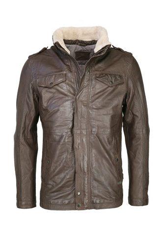 Куртка кожаная с Schulterklappen &raqu...