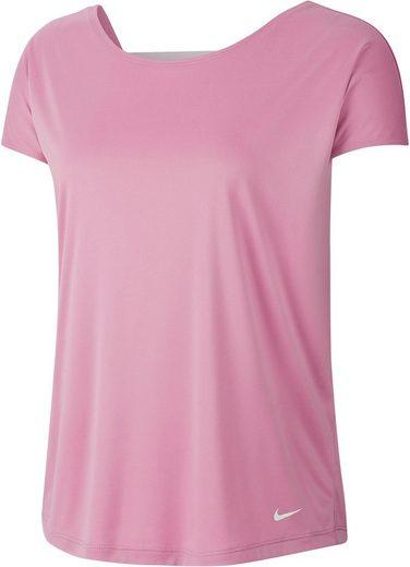 Nike Funktionsshirt »Nike Pro Dri-FIT Women's Short-Sleeve Top« Modischer Cutout am Rücken
