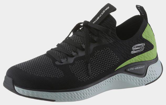 »Solar Fuse« Sneaker im angesagten Materialmix