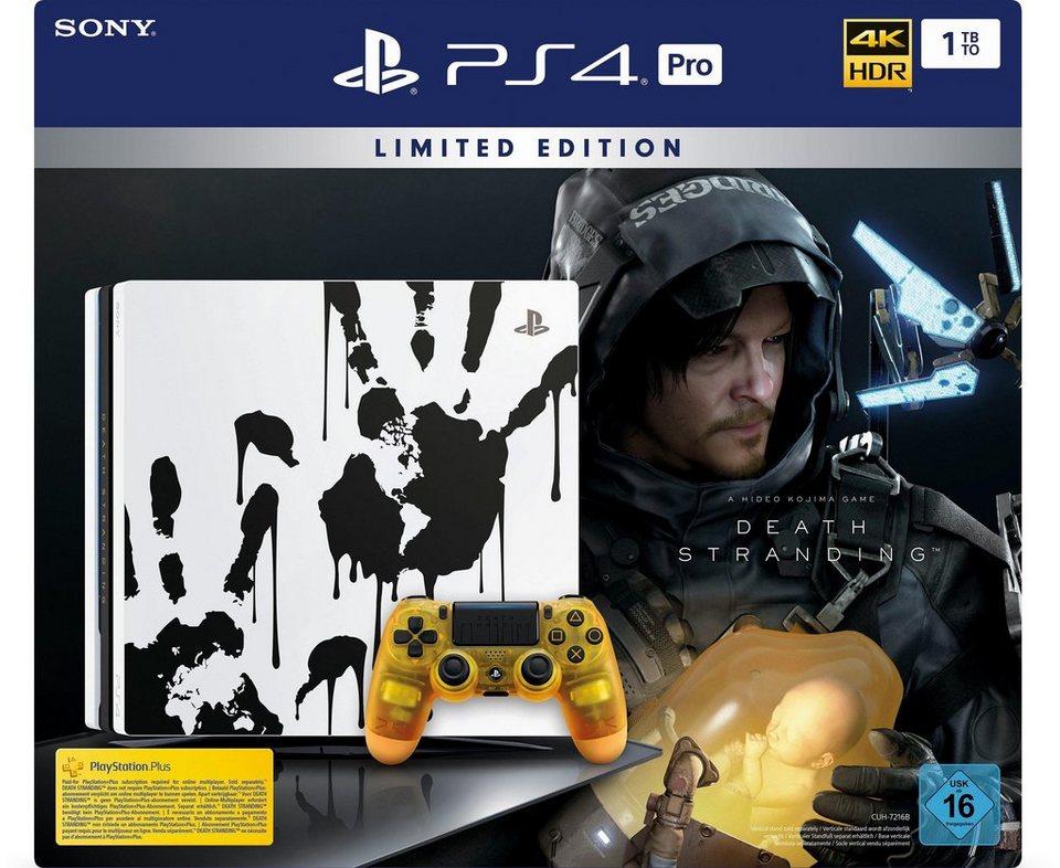PlayStation 4 Pro 1TB, Death Stranding Limited Edition