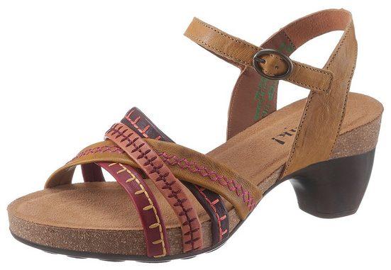 Think! »Traudi« Sandalette mit schönen Ziernähten