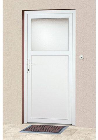 KM Zaun Haustür »K601P« BxH: 98 x 208 cm weiß ...