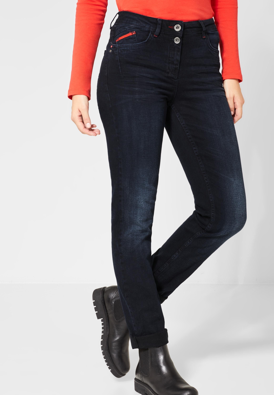Cecil Slim fit Jeans mit Crinkles, Slim Fit Denim online kaufen | OTTO