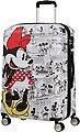American Tourister® Hartschalen-Trolley »Wavebreaker Disney, 67 cm, Minnie White«, 4 Rollen, Bild 6