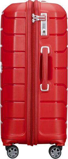 Samsonite Hartschalen-Trolley »Flux  68 cm  red«  4 Rollen