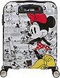 American Tourister® Hartschalen-Trolley »Wavebreaker Disney, 55 cm, Minnie White«, 4 Rollen, Bild 6