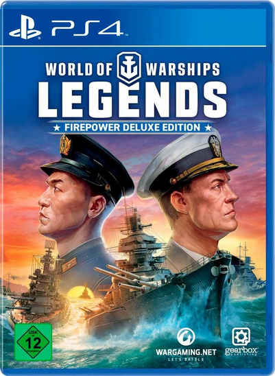 World of Warships Legends - Firepower Deluxe Edition PlayStation 4