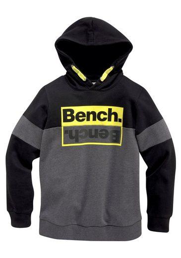 Bench. Kapuzensweatshirt »mit kontrastfarbenen Details«