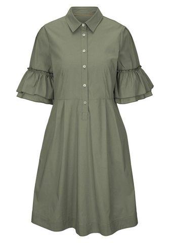 CASUAL платье с Volantärmeln