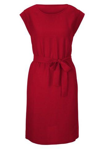 STYLE платье с пояс