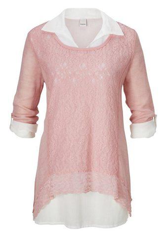 CASUAL кружевная блуза с блуза