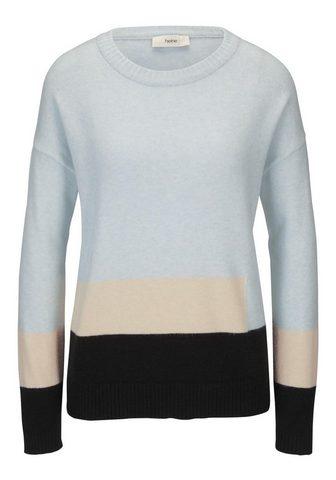 STYLE пуловер в разноцветное в разноцв...