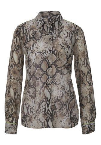 STYLE блузка в Schlangenprint