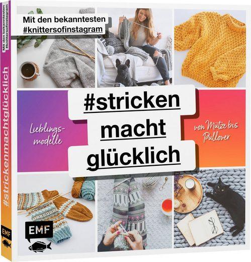 """EMF Buch """"#Strickenmachtglücklich"""" 96 Seiten"""