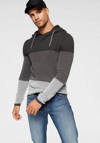 BRUNO BANANI Пуловер с капюшоном