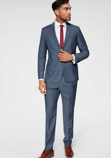 Strellson Anzug (2-tlg) aus reiner Schurwolle und edlem Glanz