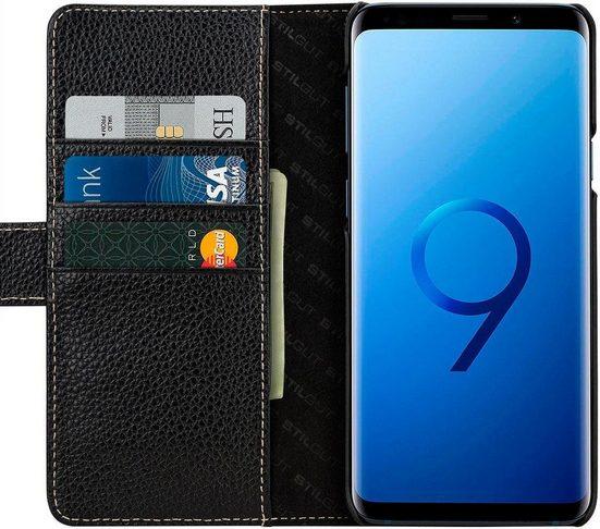 STILGUT Smartphone-Hülle »Talis Hülle mit Kartenfach für Samsung Galaxy S9+« Samsung Galaxy S9+