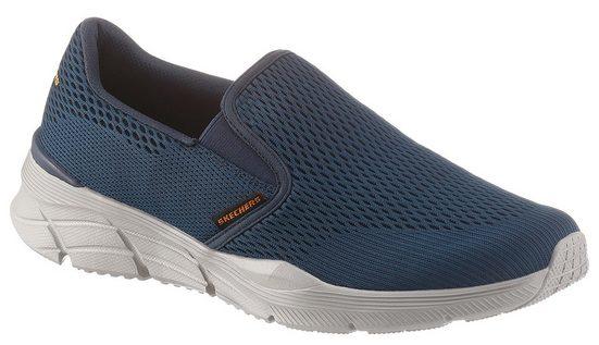 Skechers »Equalizer 4.0« Slip-On Sneaker mit seitlichen Stretcheinsätzen