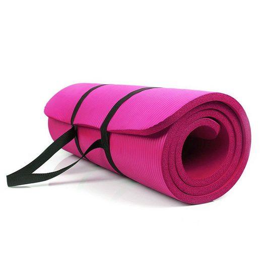 FCH Yogamatte »Y001«, Gymnastikmatte Fitnessmatte Sportmatte Matte Yoga 183 x 61 x 1 cm
