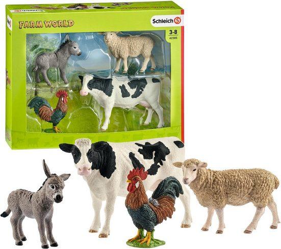 Schleich® Spielfigur »Farm World, Starter Set (42385)«, (Set)