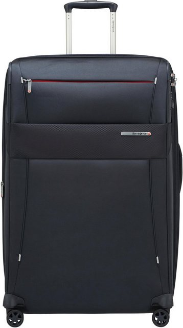 Samsonite Weichgepäck-Trolley »Duopack, 78 cm, navy blue«, 4 Rollen | Taschen > Koffer & Trolleys > Trolleys | Polyester | Samsonite