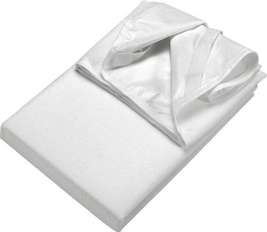 Inkontinenzauflage »Frottee Matratzenschutz«, SETEX, Materialmix