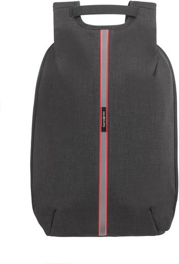 Samsonite Laptoprucksack »Securipak S, black steel«
