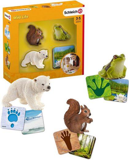 Schleich® Spielfigur »Wild Life, Lernkarten (42474)«, (Set)