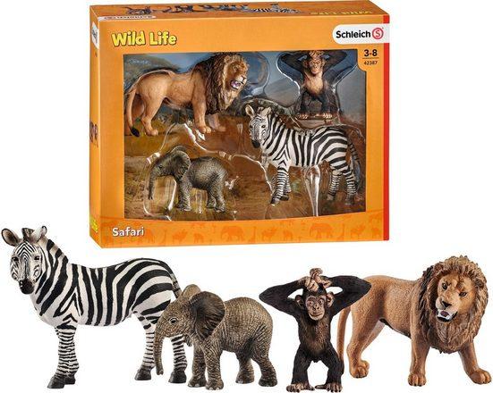 Schleich® Spielfigur »Wild Life, Starter Set (42387)«, (Set)