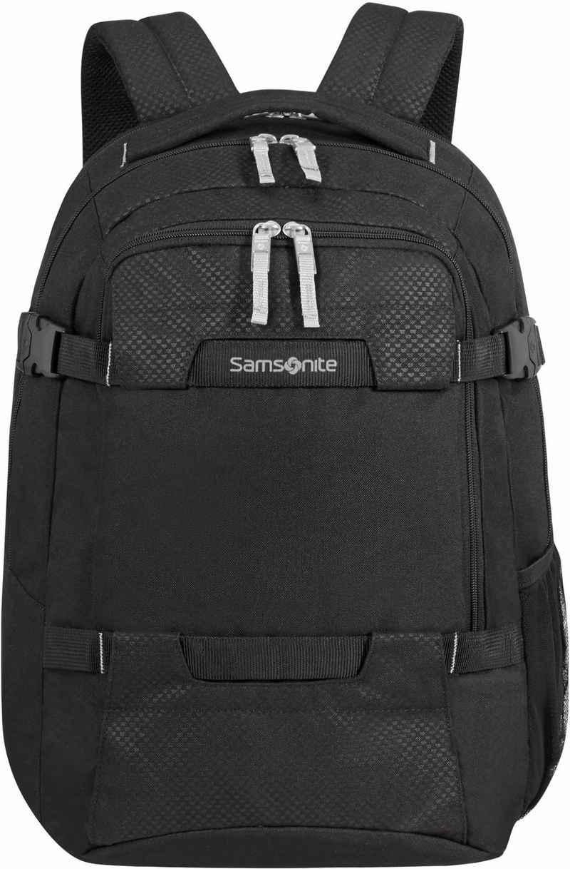 Samsonite Laptoprucksack »Sonora L, black«, aus recycelten Material