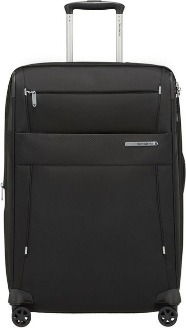 Samsonite Weichgepäck-Trolley »Duopack, 67 cm, black«, 4 Rollen | Taschen > Koffer & Trolleys > Trolleys | Polyester | Samsonite