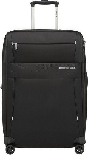 Samsonite Weichgepäck-Trolley »Duopack, 67 cm, black«, 4 Rollen