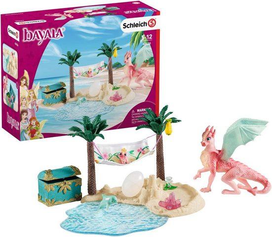 Schleich® Spielfigur »bayala, Dracheninsel mit Schatz (42436)«